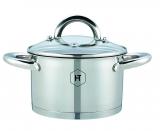 Edelstahl-Kasserolle von Herenthal ® HT-SP216